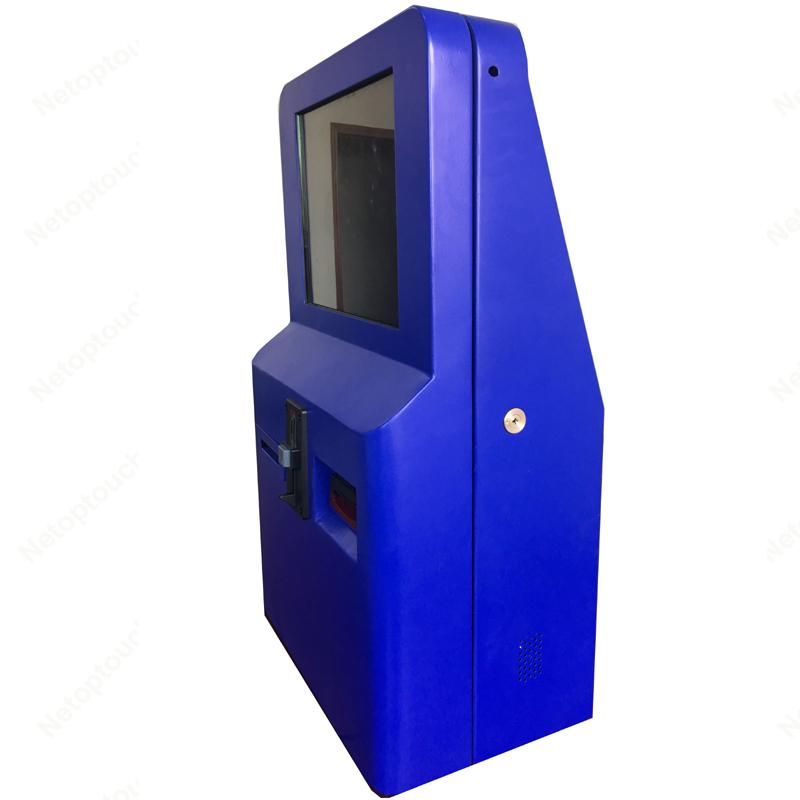 Wall mounted self service ticket vending kiosk 4