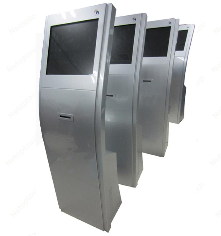 self service kiosk with thermal printer