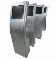 self service kiosk with thermal printer