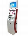 New design dual touch screen payment kiosk