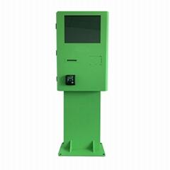 Semi outdoor kiosk for p
