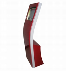 China stand touch computer kiosk cabinet