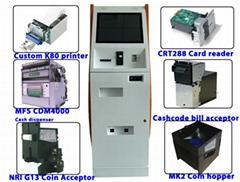 Netoptouch customize interactive digital ATM kiosks case