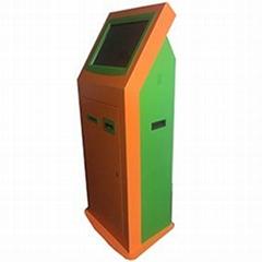 Netoptouch bill feeder kiosks machine with cash acceptor