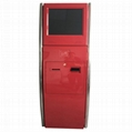 Touch payment kiosks with ticket printer