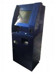 Custom touch bank ATM kiosk case