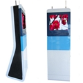 Touch screen kiosk stands for mall,