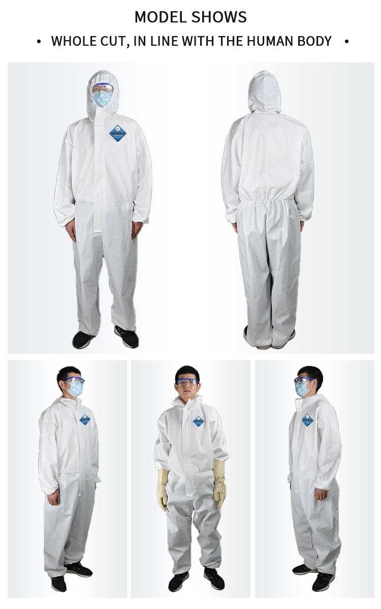 Isolation gown, Isolation clothes, protecting isolation garment 1