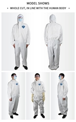 Isolation gown, Isolation clothes, protecting isolation garment