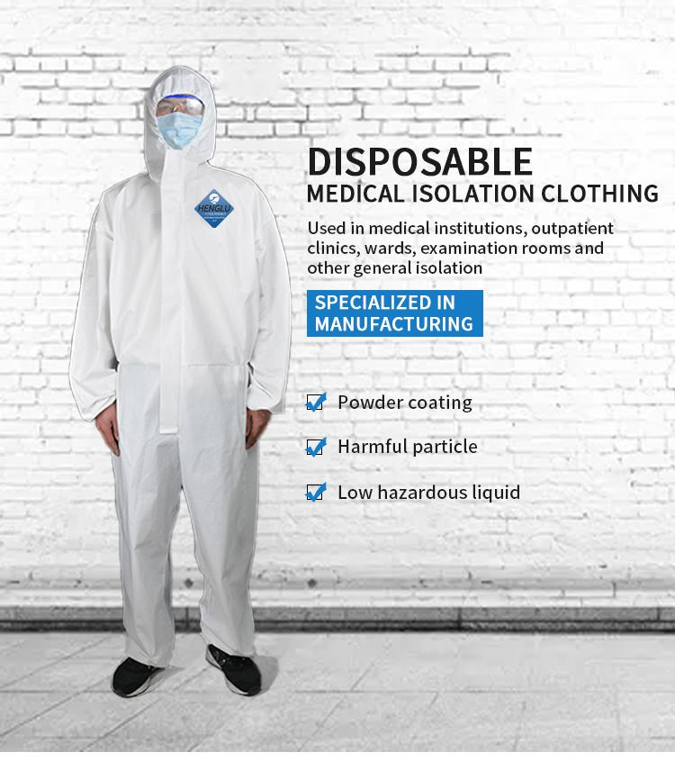 Isolation gown, Isolation clothes, protecting isolation garment 5