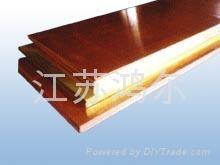 铜板 T2紫铜板 c1100高精紫铜板 无氧铜板 高导铜板