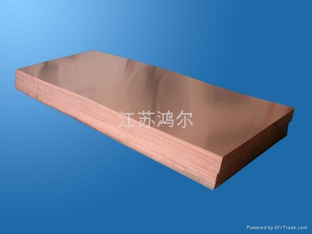 銅板 T2紫銅板 c1100高精紫銅板 無氧銅板 高導銅板 3