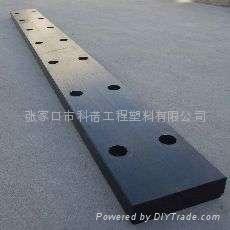 工程塑料合金MGE坞门止水承压垫