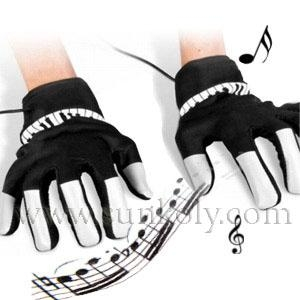 Electronic Piano Gloves 1
