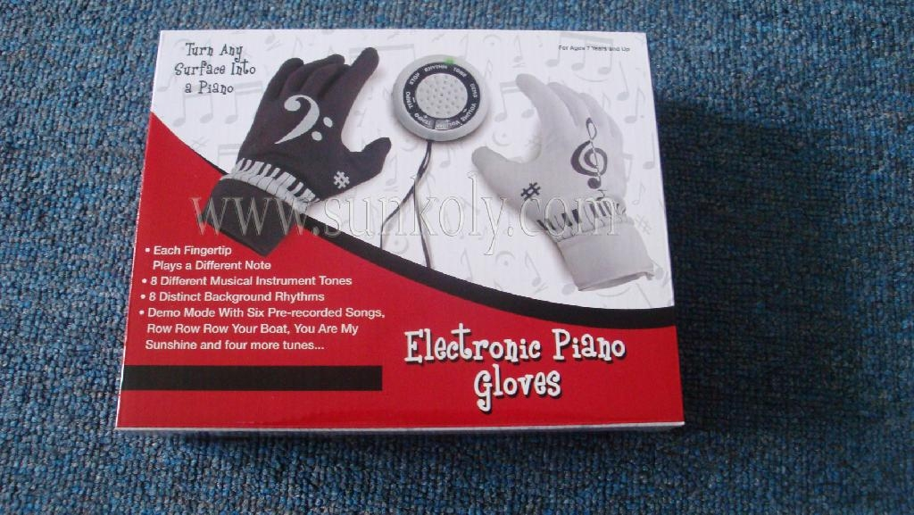 Electronic Piano Gloves 2