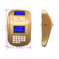 AF100 IC卡食堂售饭机订餐机消费机玫瑰金色台式 5
