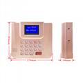 AF300 IC卡食堂售饭机订餐机消费机玫瑰金色挂式 3