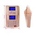 金色臺式AF100 IC卡食堂售飯機,就餐機,可控制三棍閘 5