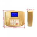AF300 IC卡食堂售飯機訂餐機消費機土豪金色挂式 5