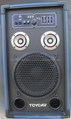 active speaker box