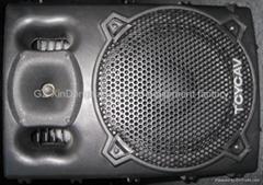 plastic sound box