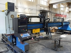 Multifunctional CNC flame / plasma cutting machine
