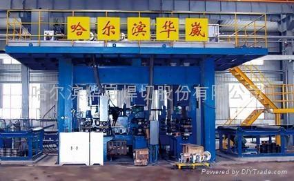 黑龙江哈尔滨生产锅炉企业用管屏焊接生产线 1