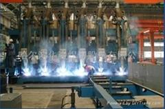 黑龍江哈爾濱生產船用高效多頭T型材生產線