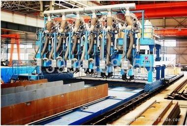 黑龙江哈尔滨生产船用高效多头T型材生产线 2