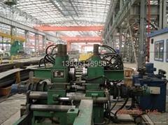 黑龍江哈爾濱造船企業用面板倒稜機生產線