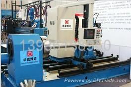 黑龙江哈尔滨生产五、六轴数控相贯线切管机 2