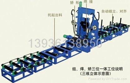 H型钢自动焊接生产线 1