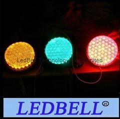 "200mm 8"" Cobweb Lens LED Traffic Light cone Module"