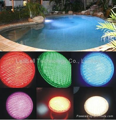 25W par56 led swimming pool bulb rgb 2