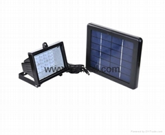 Solar garden landscape flood lights