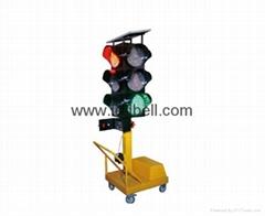 IP65 Solar Wireless Portable Traffic Light