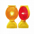 LED Solar Road Block Traffic Lamp