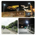 40W All in one solar street led dock lamp