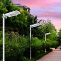 5w All in one solar courtyard garden park led  light