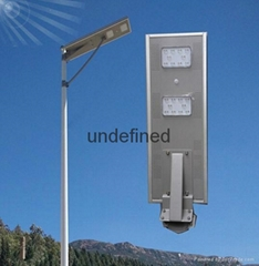 20W All in one integrated solar stree light