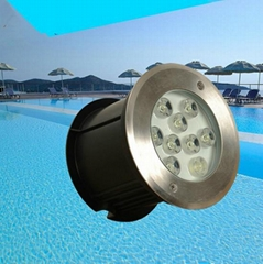 IP68 led spa pool underwater fountain lamp light