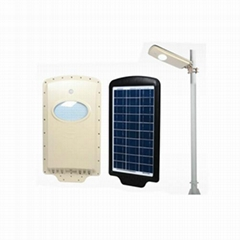 10w All in one solar courtyard garden park led  light