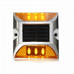 Solar LED Road Stud Driveway Pathway Stair Deck Dock Cat eye lamp Light