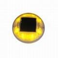 360 Degree LED Solar Cap road stud light