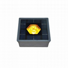 Solar led brick light