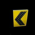 Solar led traffic guiding signage