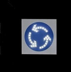 Solar Warning direction signage