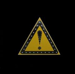 Solar Warning Dangerious signage
