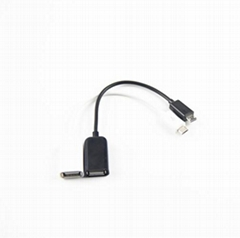 OTG cable micro to USB data transfer cable