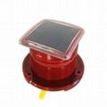 GPS Solar Aviation Roadblock lights